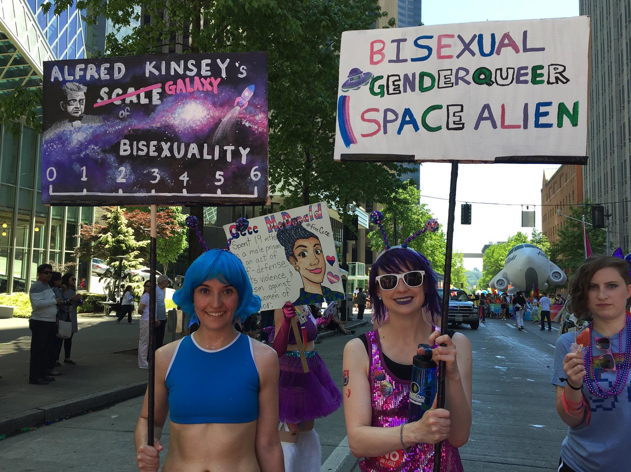 Seattle Bi Women's Network & BiNet Pride Parade 2017 (91)