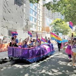 1st Bi Pride Float in Seattle