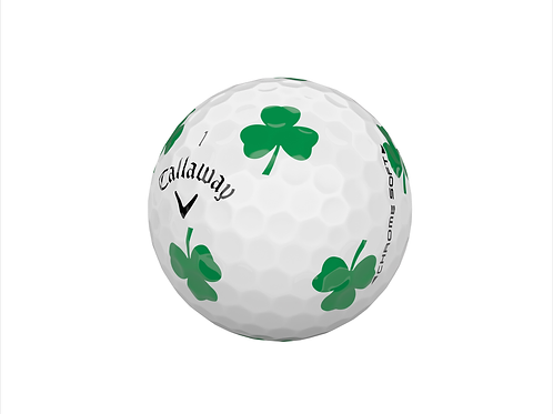 Callaway Chrome Soft Truvis Shamrock Golf Ball