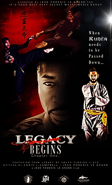 Legacy Begins Chp One Movie Poster