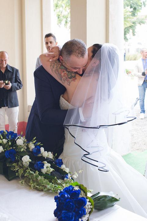 Wedding on garda's lake