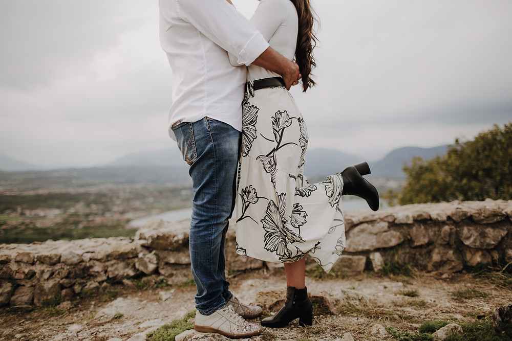 lake Garda engagement session