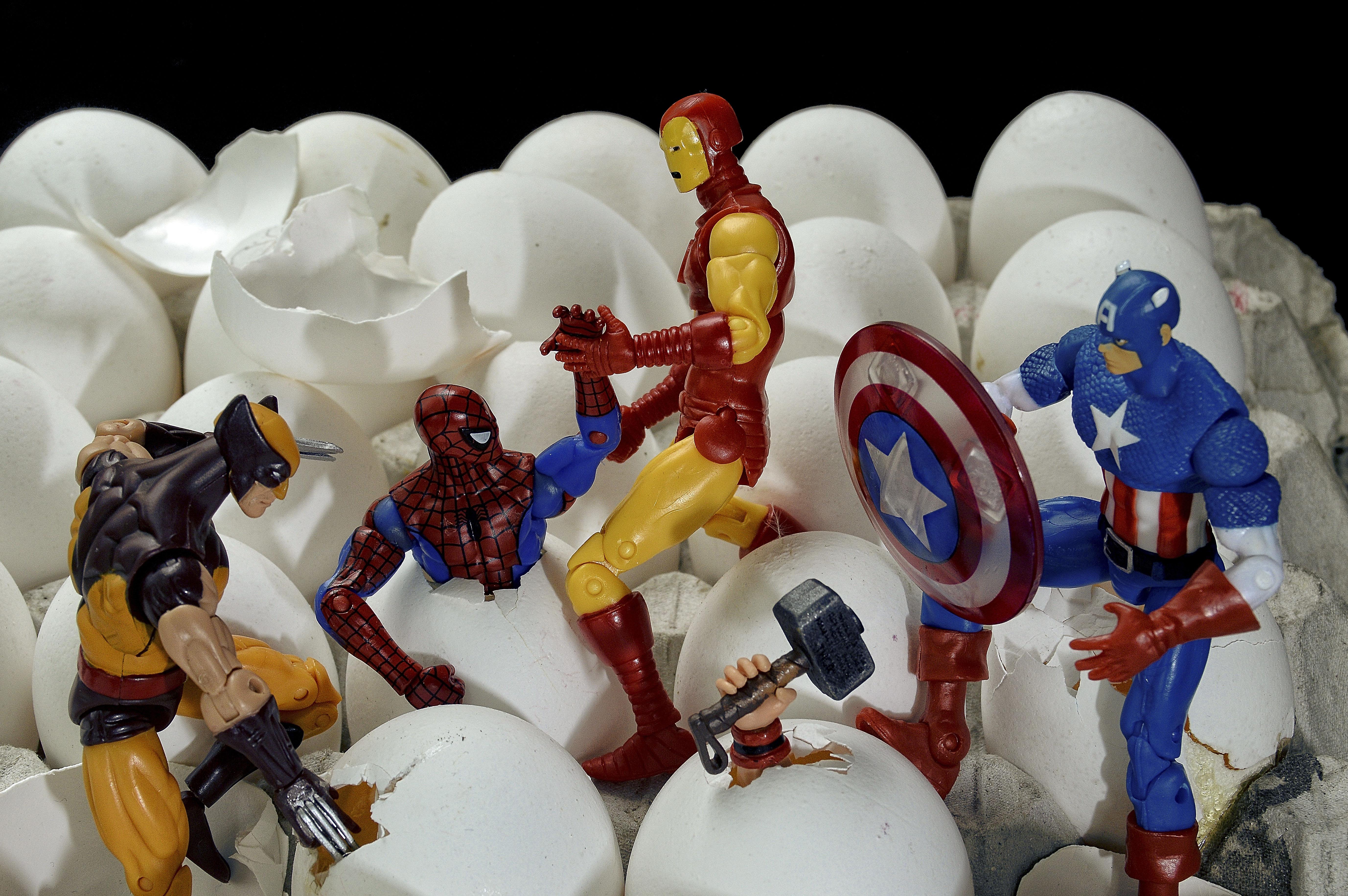 Finalist - Marvel Eggs