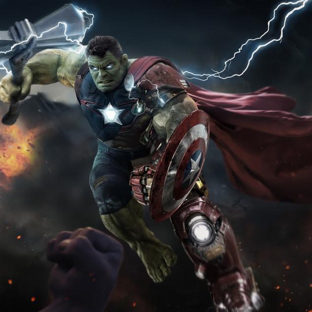 Avengers Endgame Concept Art