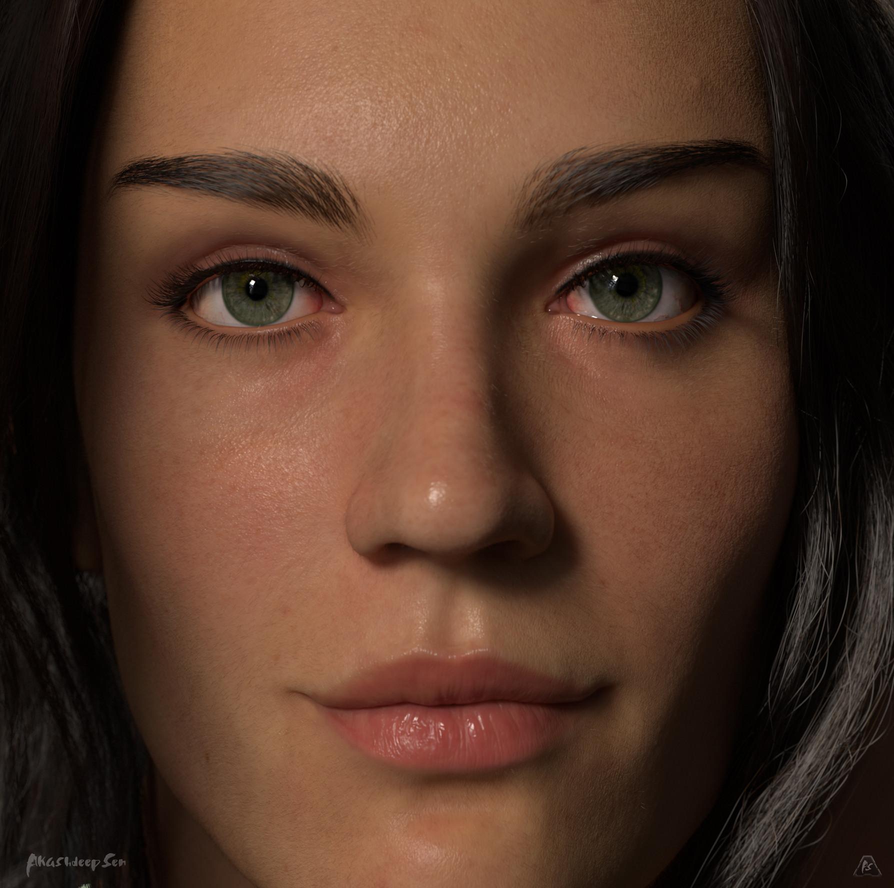 Gina Closeup