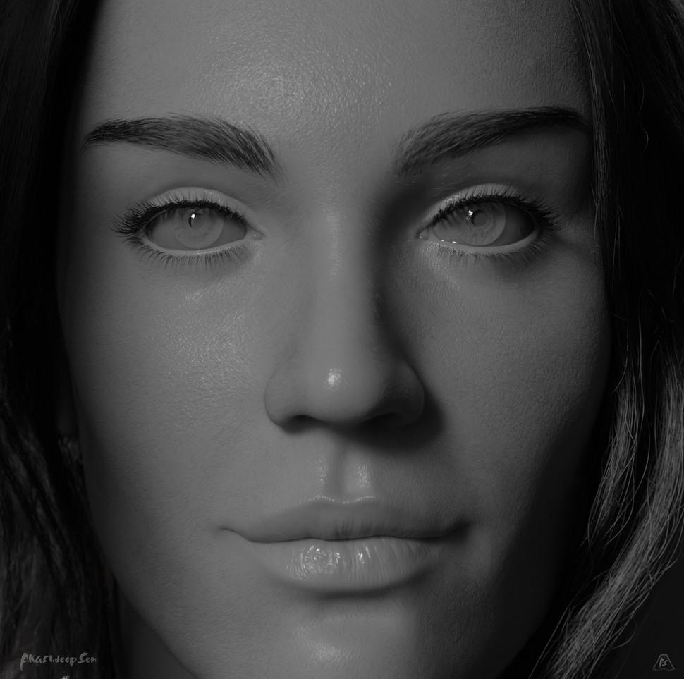 Close Up GreyScale