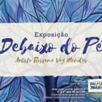 Folder da exposição realizada na Galeria Sesc.