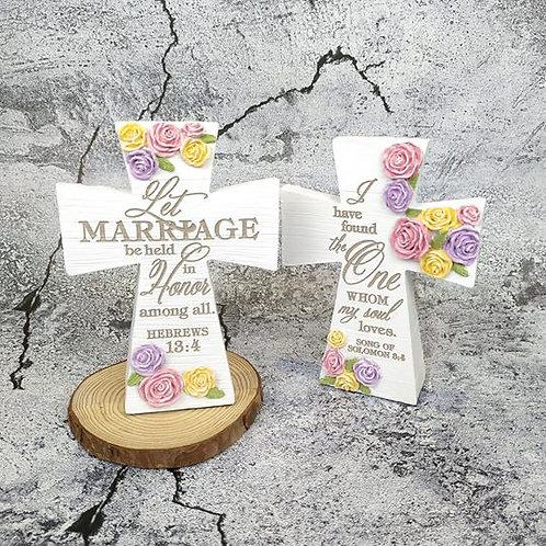 Marriage 座枱十字架