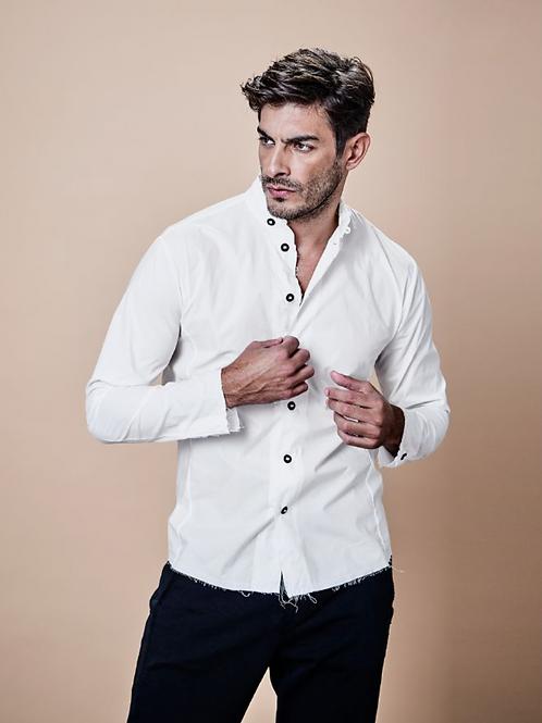 HANNES ROETHER Cotton-Hemd