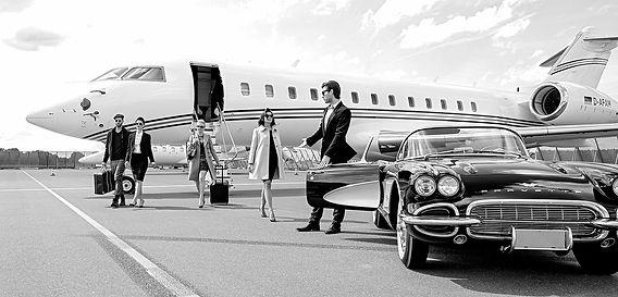 Mrs. Kennedy arrives