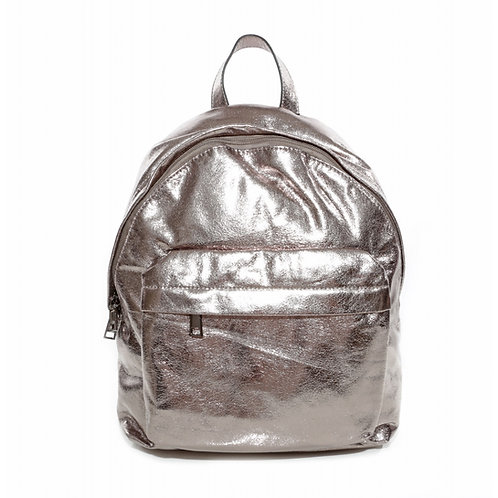BACKPACK SHINY SILVER