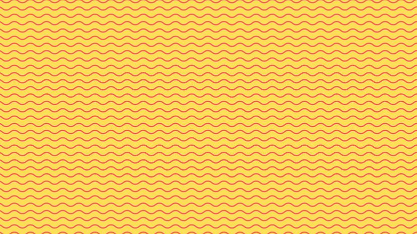 Desenho de ondas