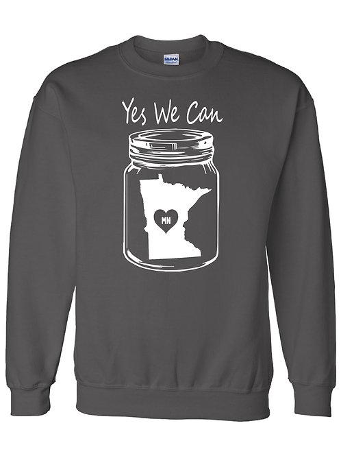 Yes We Can Crewneck Sweatshirt