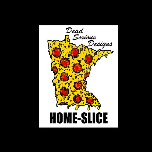Home-Slice Sticker