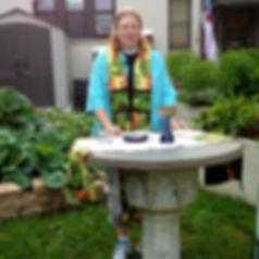 Garden Healing Service