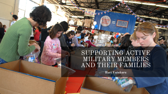 How to Support Active Military Members and Their Families