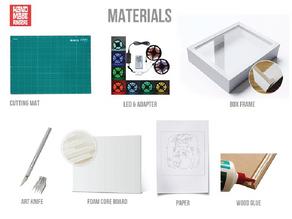 3d Paper LightBox Tutorial