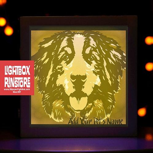 BOGO #84 I Love Dog svg, 3D Shadow box Template SVG files