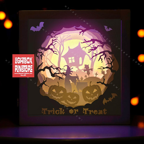 BOGO #170 Halloween svg, 3D Shadow box Template SVG files