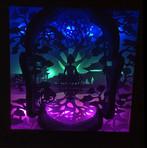 BOGO #21 Buddha (Resizable) Christmas svg, 3D Shadow box Template SVG files -3D Paper Cutting Light Box SVG Template files Cricut