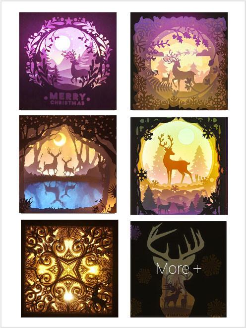 Templates Deer Spirit