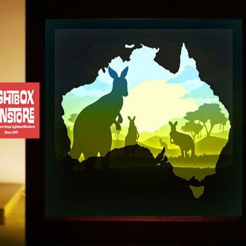 BOGO #130 Australia Save Kangaroo svg,