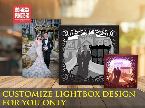 #15 Customize lightbox Design for you only - 3D Paper Cutting Light Box Template