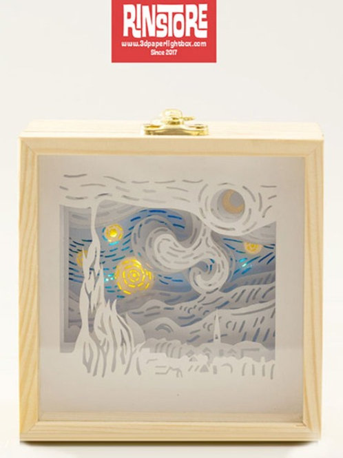 Vangogh Starry Night finished product . Only ship to USA, Canada and EUROPE.
