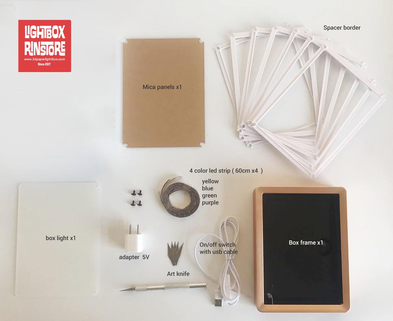Paper Lightbox FULL DIY KIT