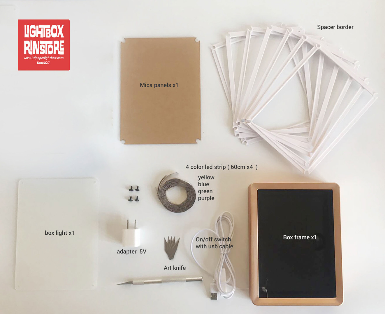 Paper Lightbox FULL DIY KIT