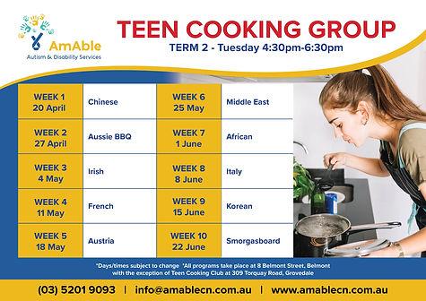 AmAble_Program Planner_Term2_Teen Cookin