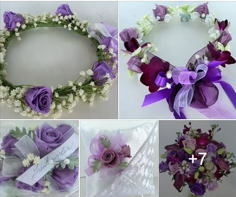 lavender and purple collection