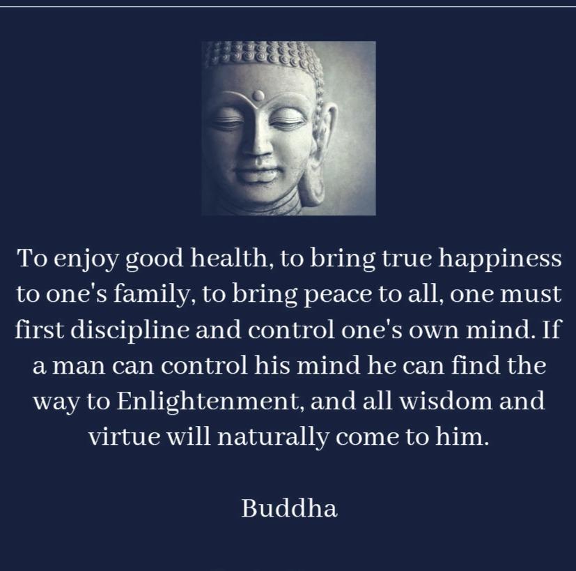 Buddha's Love of God