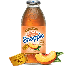 SNAPPLE  THÉ GLACÉ À LA PÊCHE  / SNAPPLE ICE TEA PEACH