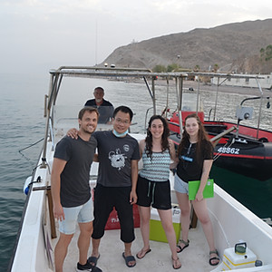 Eilat trip for plankton collection