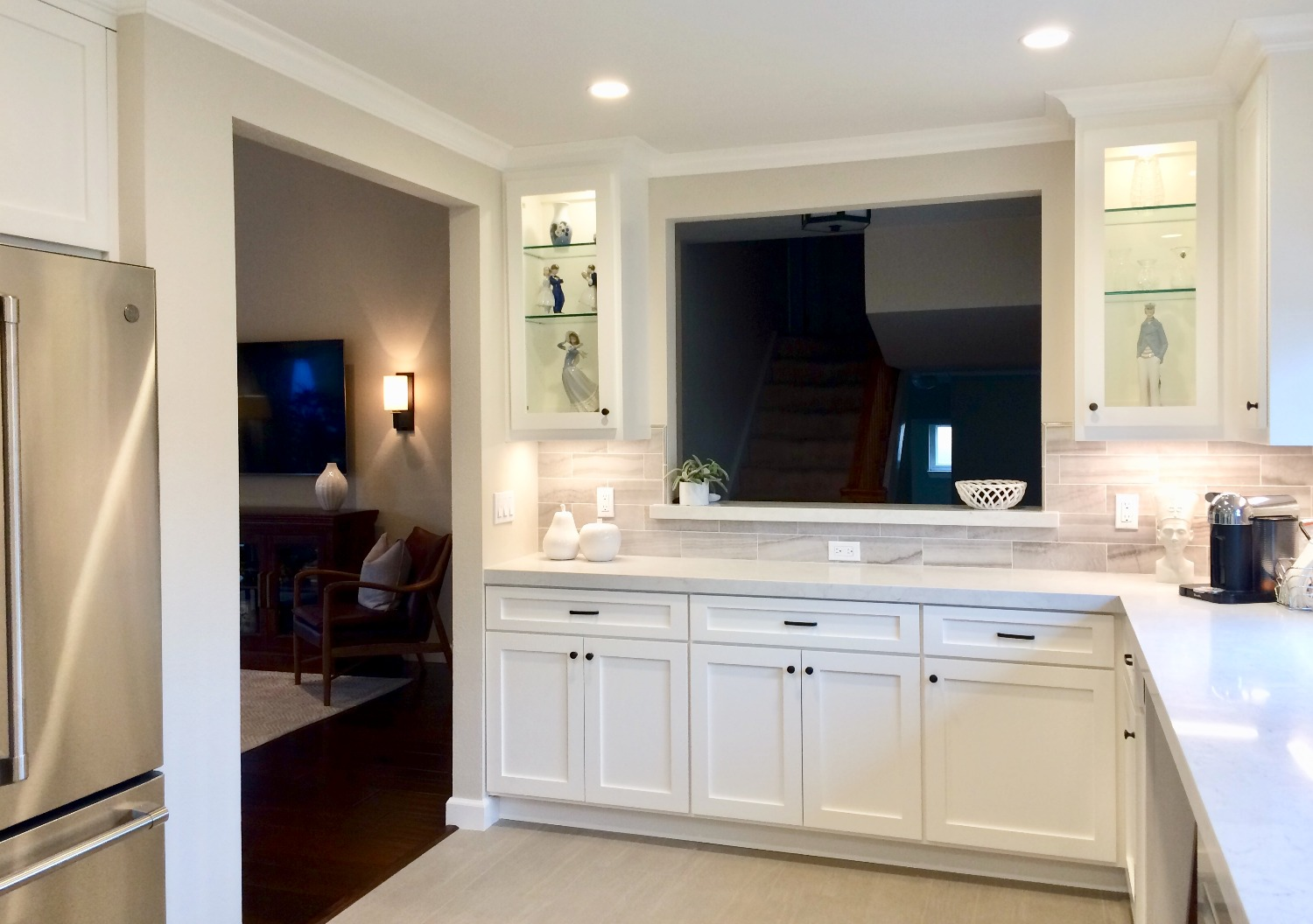 Pleasanton Kitchen & Living Room