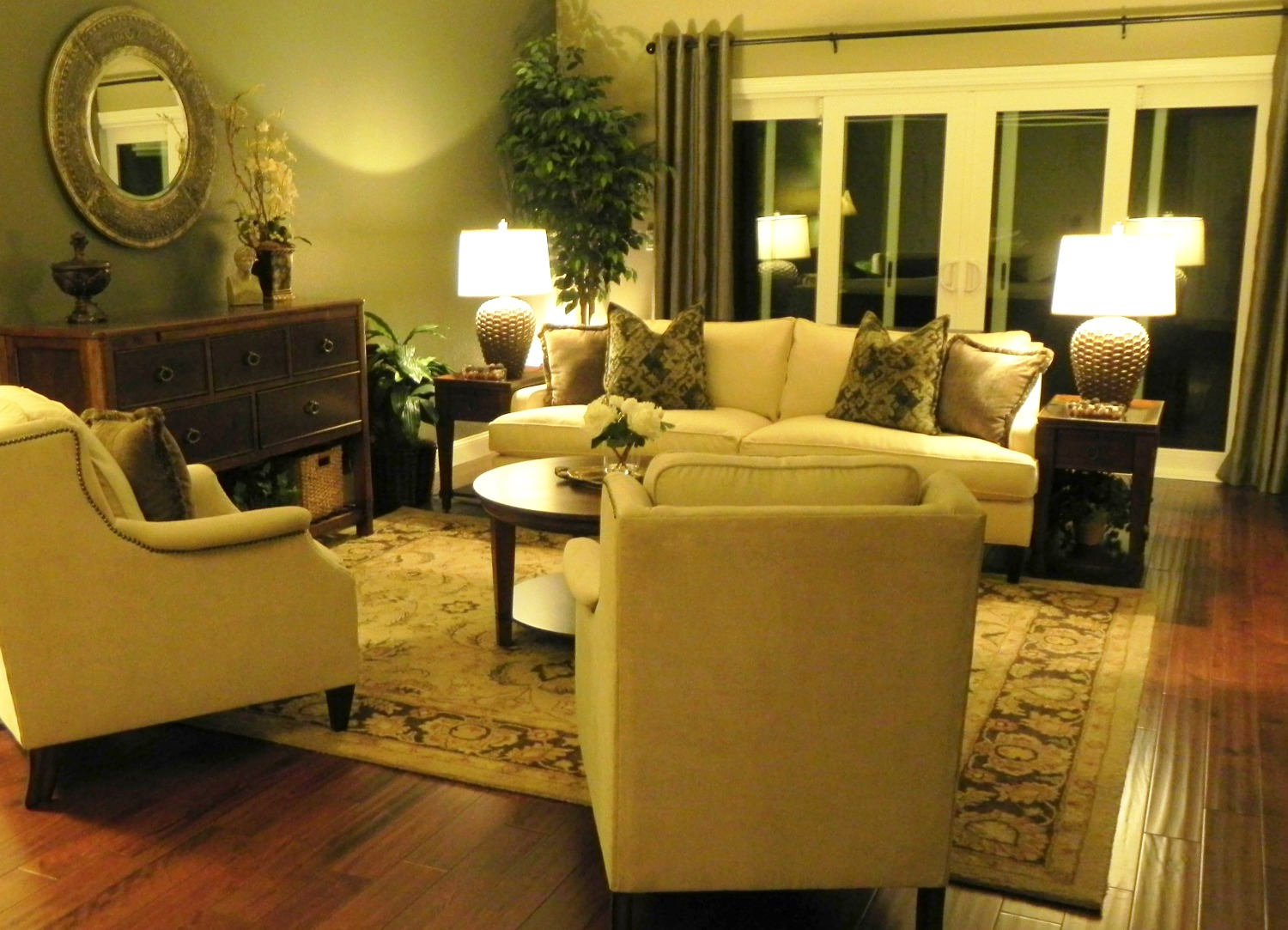 Danville Formal Living Room