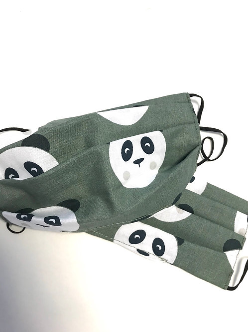 Bimbo 6-10 anni panda militare