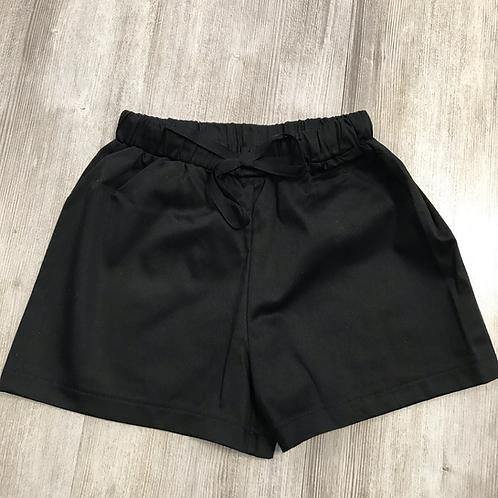 Panta corto  nero