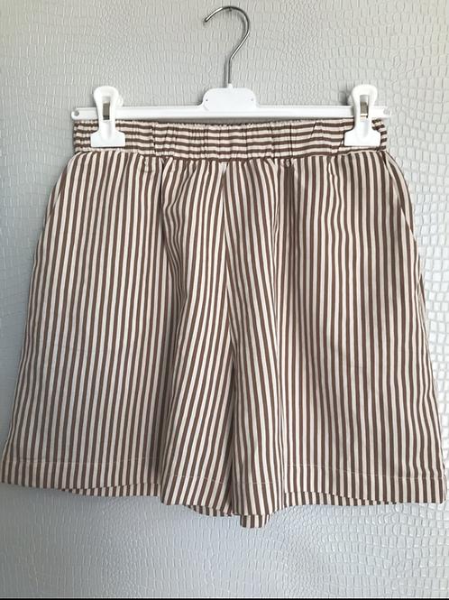 Pantaloncino corto riga