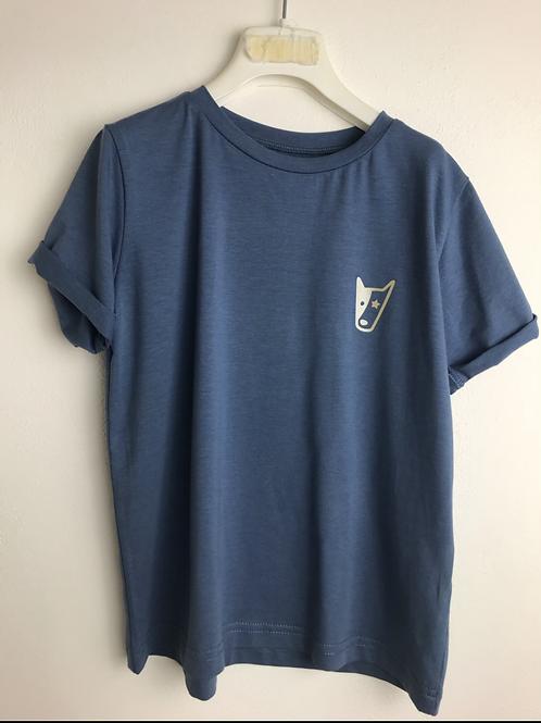 T-shirt blu oltremare