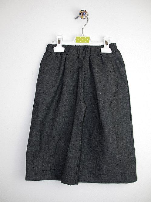 panta largo jeans grigio