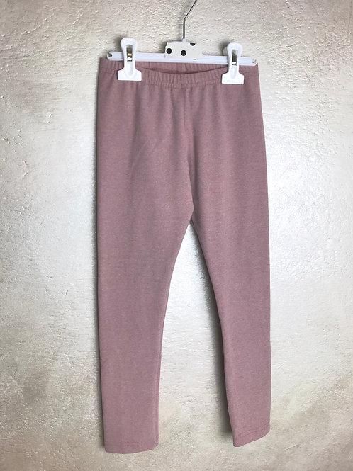 Leggins in caldo cotone rosa