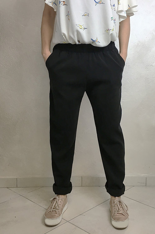 pantalone Cupro nero