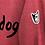 Thumbnail: Felpa  adulto White dogo rosso melange