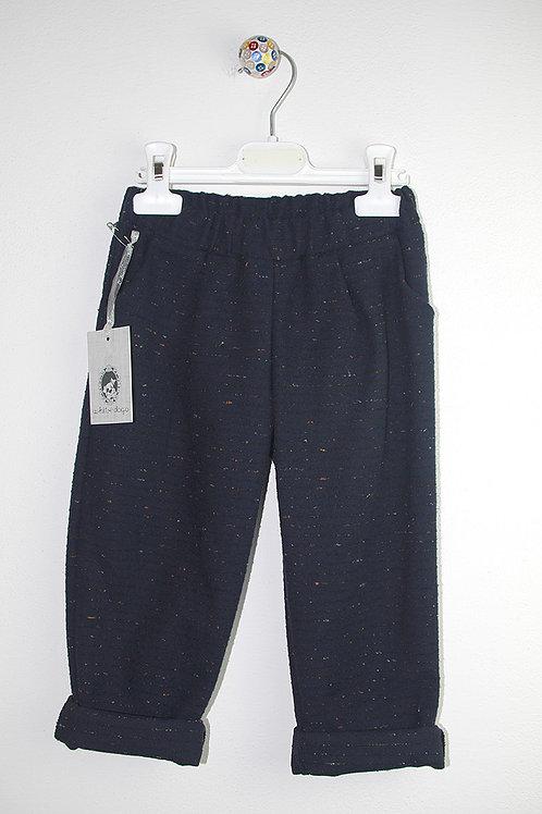 Pantalone 17423 blu pagliuzze