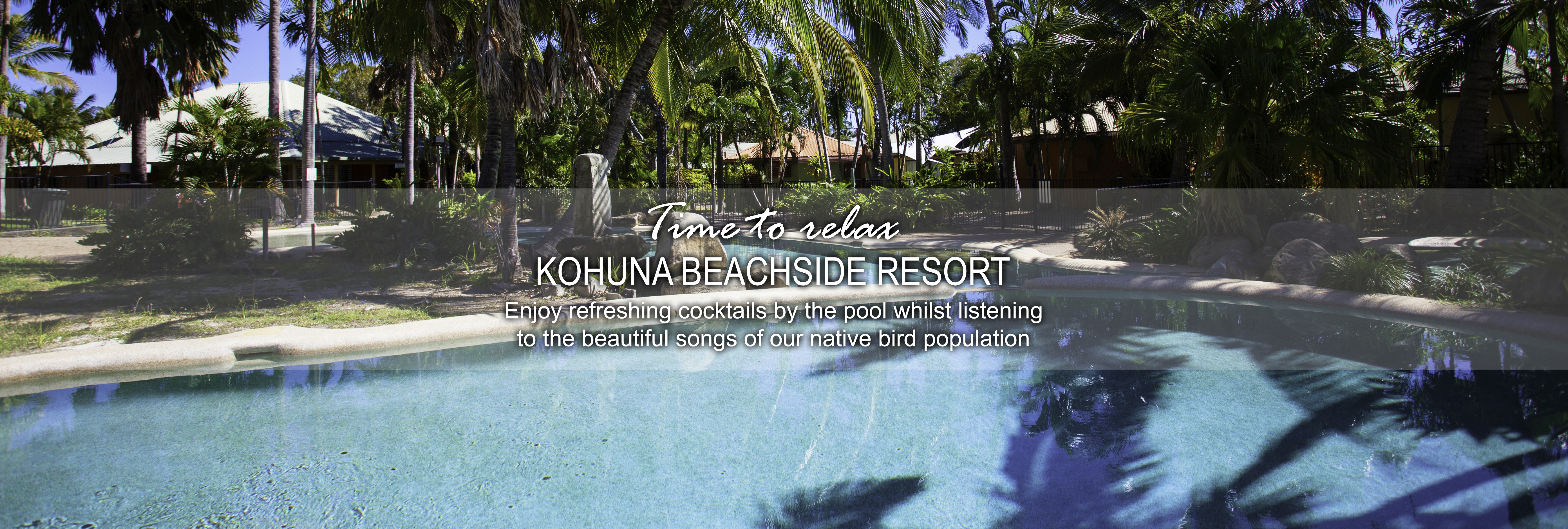 Kohuna beachside resort pool