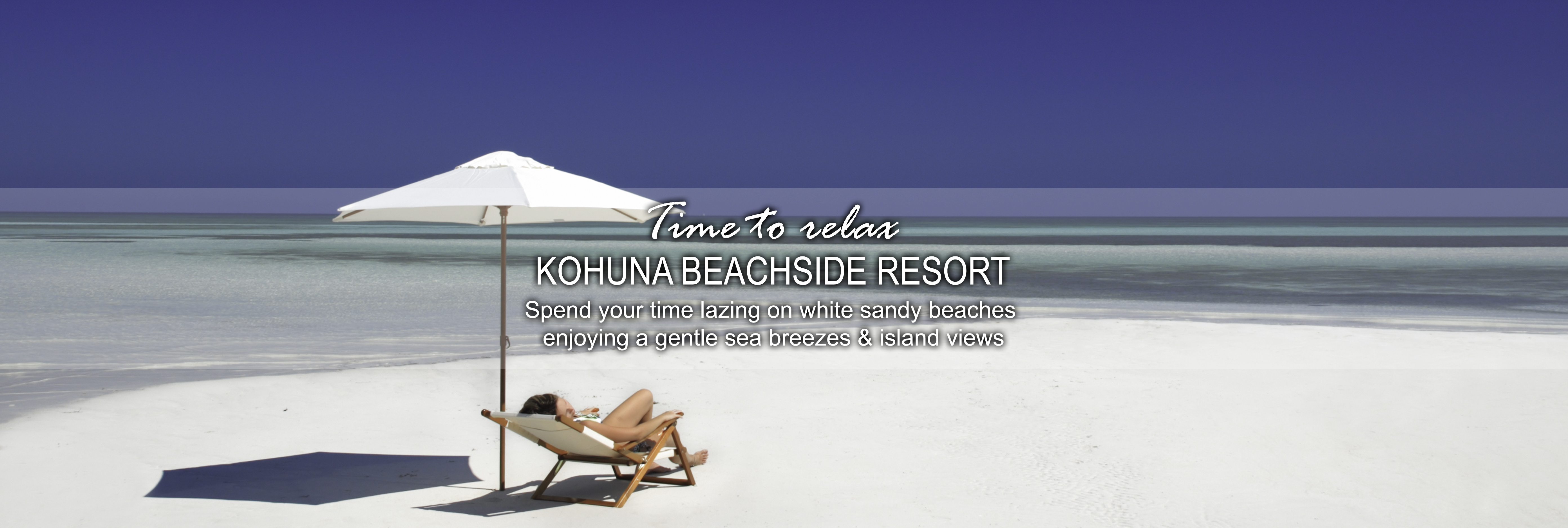 Kohuna beachside resort beach