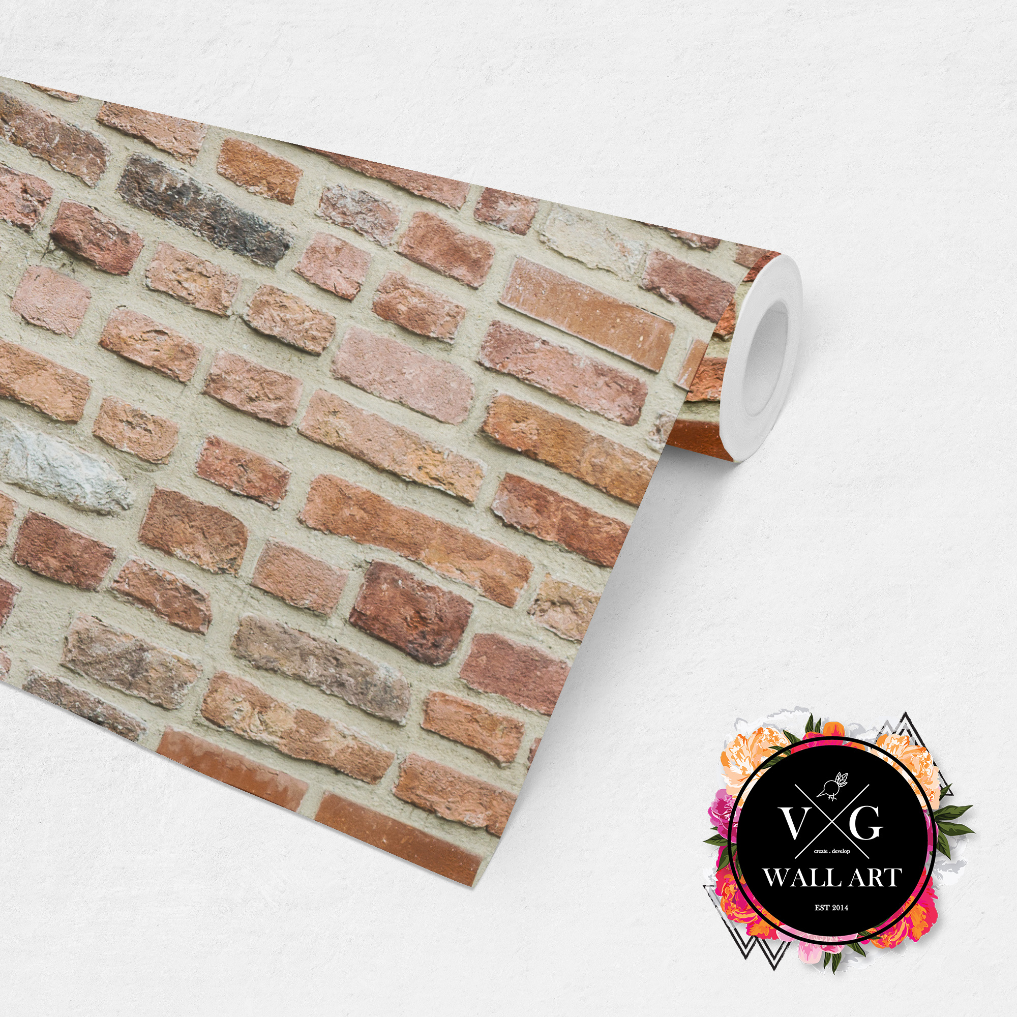 Roll Display_Red Brick