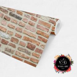 Roll Display_Red Brick
